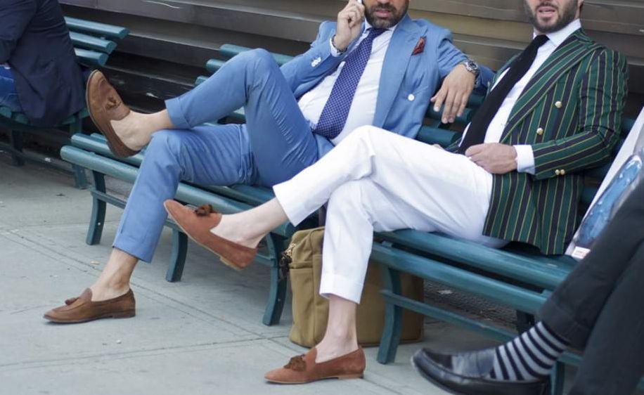 Porter des chaussures sans chaussettes, c'est possible